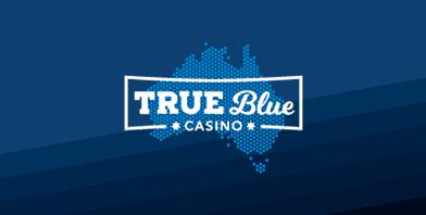 true blue casino logo au